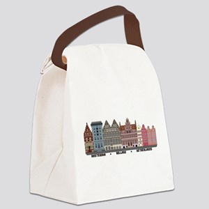 Amsterdam Holland Canvas Lunch Bag
