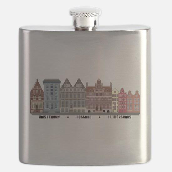 Amsterdam Holland Flask