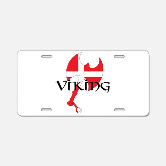Denmark Viking Aluminum License Plate