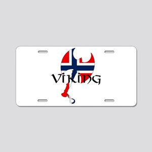 Norway Viking Aluminum License Plate