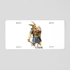 Thor Aluminum License Plate