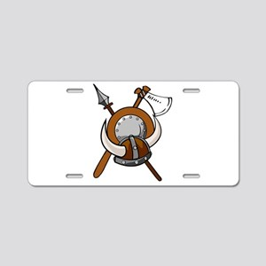 Viking Armour Aluminum License Plate
