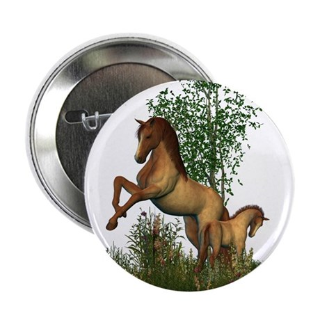 """Mare Foal 2.25"""" Button (100 pack)"""