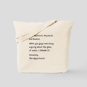 Opportunist Tote Bag