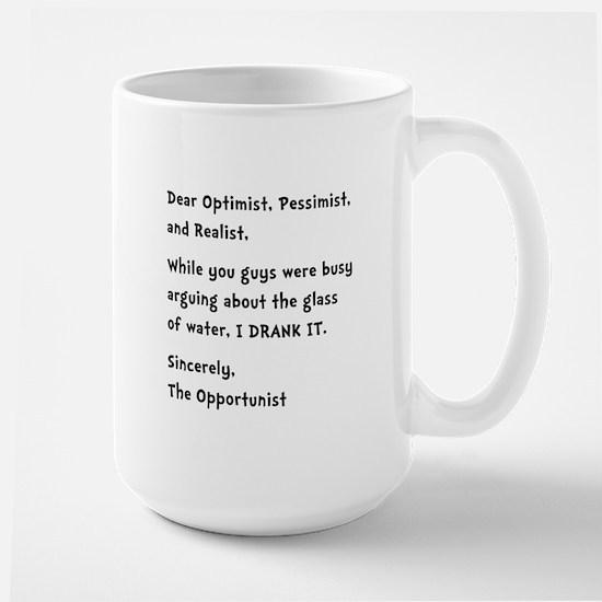 Opportunist Large Mug