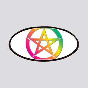 Bright pentacle Patches
