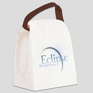 Twilight eclipse Canvas Lunch Bag