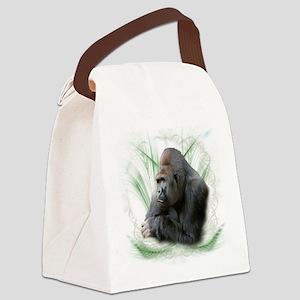 gorilla1 Canvas Lunch Bag