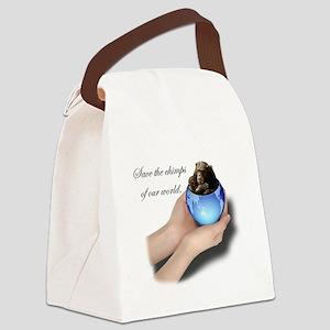 savechimps Canvas Lunch Bag
