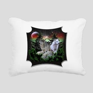northernwolves Rectangular Canvas Pillow