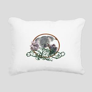 koala Bear Rectangular Canvas Pillow