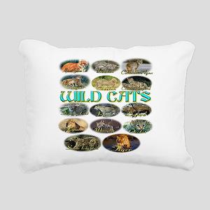wildcats Rectangular Canvas Pillow