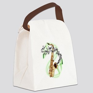 TenorSaxophone Canvas Lunch Bag