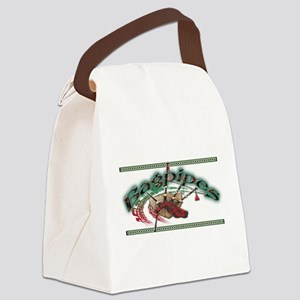 bagpipes Canvas Lunch Bag