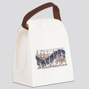 Trumpet Canvas Lunch Bag