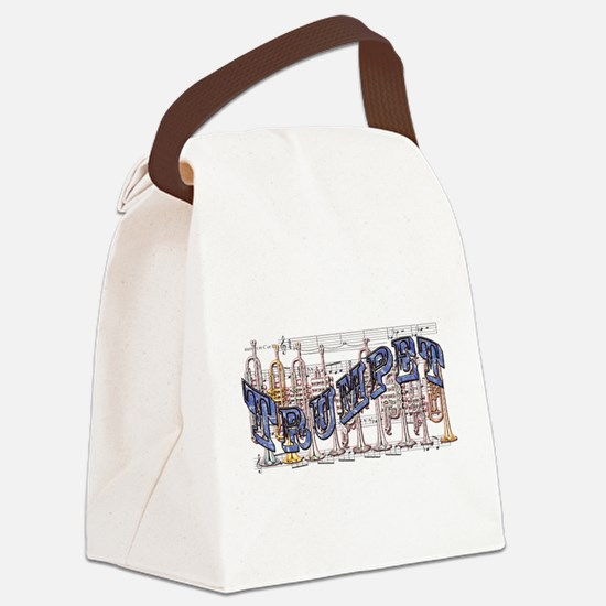 Trumpet.png Canvas Lunch Bag
