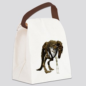 Dino Snack Canvas Lunch Bag