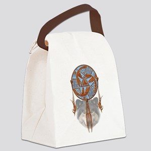dreamcatcher1 Canvas Lunch Bag
