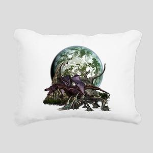 monster 7 Rectangular Canvas Pillow