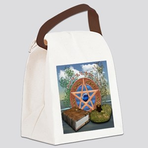 blessedbesquare Canvas Lunch Bag