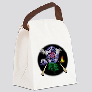 MOON-BROOMS-ELEMENTS Canvas Lunch Bag