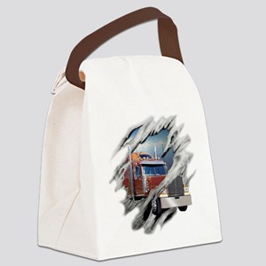 trucking Canvas Lunch Bag