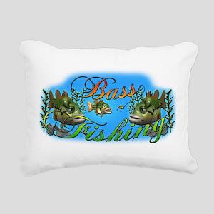 Bass Rectangular Canvas Pillow