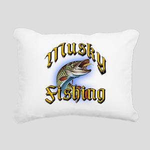 Musky1 Rectangular Canvas Pillow