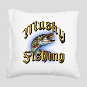 Musky1 Square Canvas Pillow