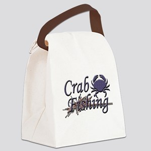 crab fishing Canvas Lunch Bag