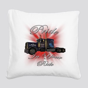 truck4 Square Canvas Pillow