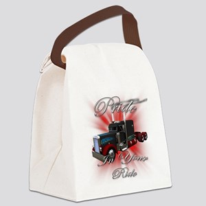 truck4 Canvas Lunch Bag