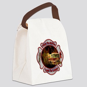 Firefighters Canvas Lunch Bag