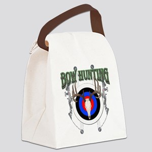 Buck Hunting Canvas Lunch Bag
