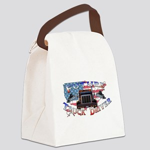 truckdriver Canvas Lunch Bag