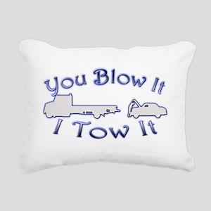 Blow-Tow Rectangular Canvas Pillow