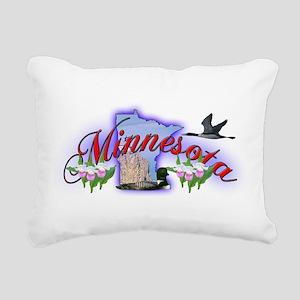 Minnesota Rectangular Canvas Pillow