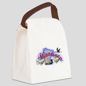 Minnesota Canvas Lunch Bag