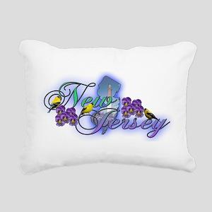 new jersey Rectangular Canvas Pillow