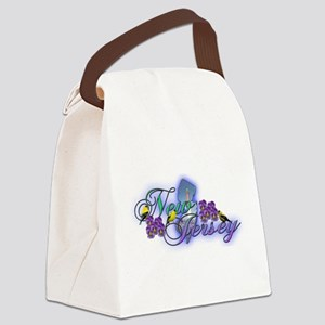 new jersey Canvas Lunch Bag