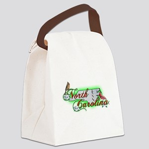 North.Carolina Canvas Lunch Bag