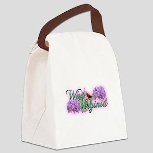 West Virginia Canvas Lunch Bag