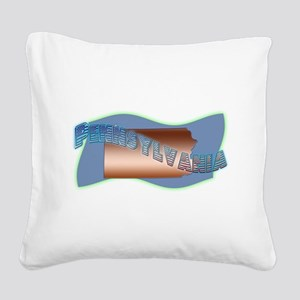 Pennsylvania Square Canvas Pillow