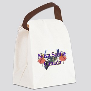 Nova Scotia Canvas Lunch Bag