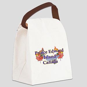 Prince Edward Island Canvas Lunch Bag