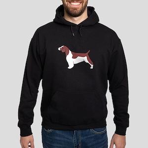Welsh Springer Spaniel Hoodie (dark)