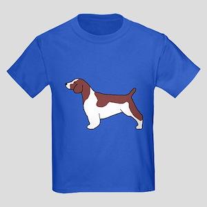 Welsh Springer Spaniel Kids Dark T-Shirt