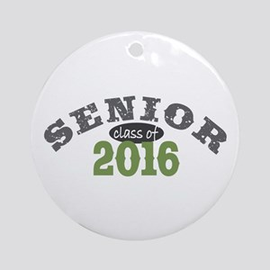 Senior Class of 2016 Ornament (Round)