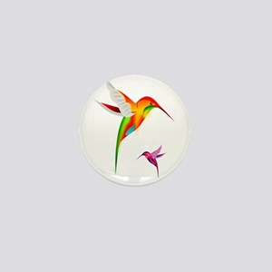 Hummingbirds_colibri_Transp_12b17 Mini Button
