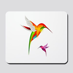 Hummingbirds_colibri_Transp_12b17 Mousepad